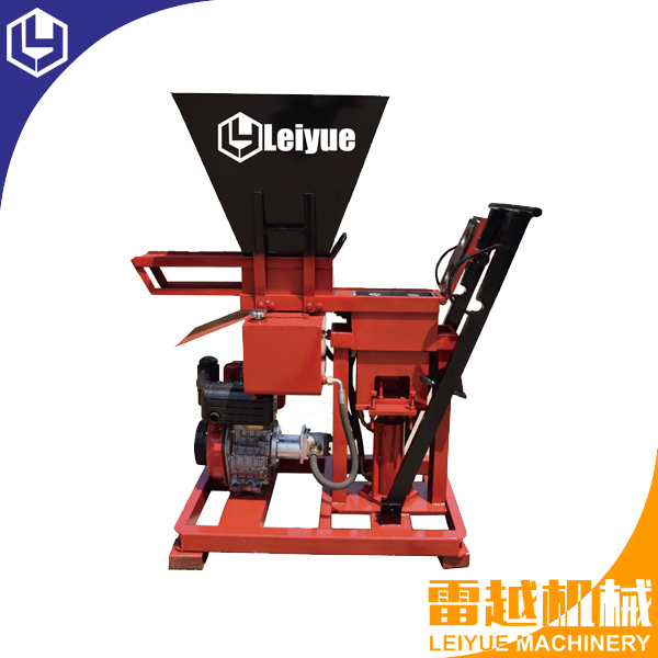 LY1-25D Diesel engine earth compressed block machine