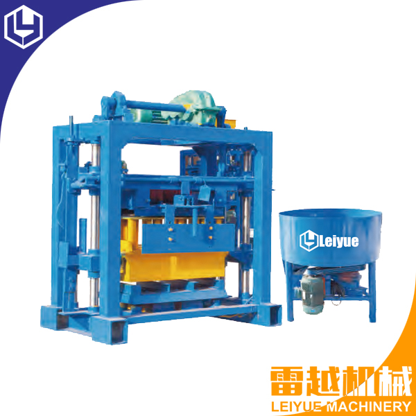 QT40-2 Manual concrete block making machine