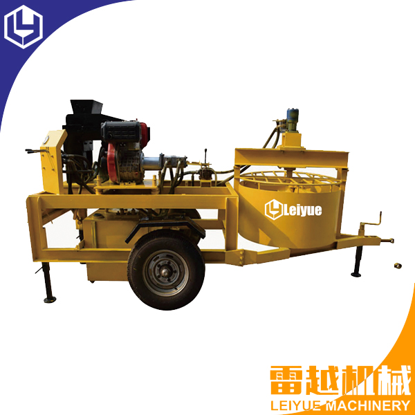 M7M1 hydraform block machine