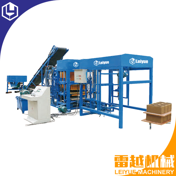 QT4-18 Automatic hydraulic hollow block machine for sale