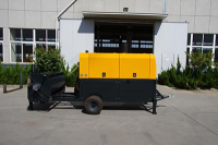 Foam concrete machine for tunnel lining filling